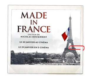 Made in France Affiche Cinema