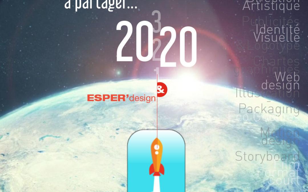 Vœux ESPERdesign 2020